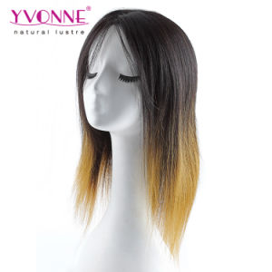 No Tangle No Shedding Ombre Brazilian Curly Human Hair Wig pictures & photos