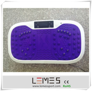2015 High Quality New Design Fitness Vibration Plate Gym Machine Crazy Fit Massage pictures & photos