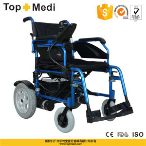 High Quality Cheap Electric Lithium Battery Wheelchair pictures & photos