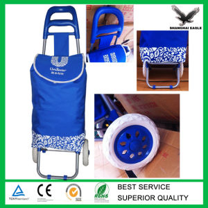 Foldable Vegetable Shopping Trolley Bag pictures & photos