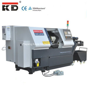 High Quality Precision Slant Bed CNC Lathe Machine Kdck-25 pictures & photos