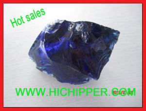 Cobalt Blue Colored Glass Rock Stone pictures & photos