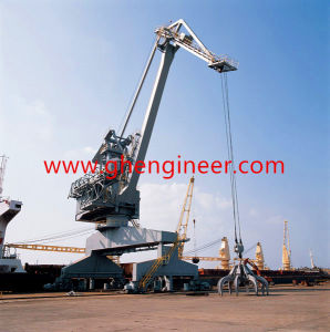 Interval Ship Unloader with Hydraulic Grab in Jetty and Dock pictures & photos