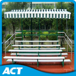 Mobile Aluminum Bleachers for Football Stadium / Badminton Stadium pictures & photos