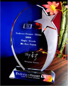 Exquisite Recognition Award Crystal Glass Trophy pictures & photos