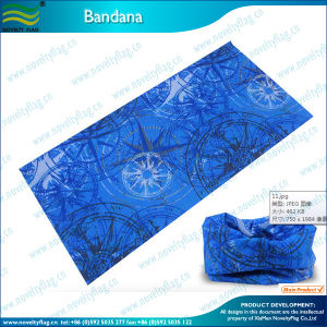 Multi-Function Knitted Seamless Blue Bandana (J-NF20F19020) pictures & photos