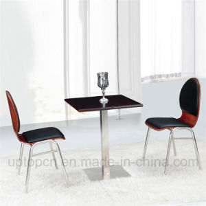 New Design Popular Cafe Restaurant Chair and Table Set (SP-CT623) pictures & photos