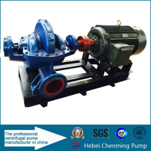 China Manufacturer Horizontal Split Case Double Suction Water Pump pictures & photos