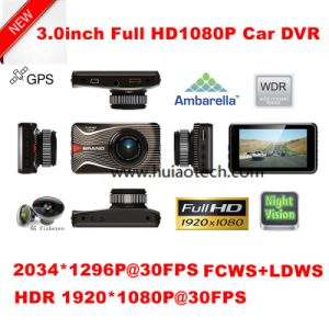 """Cheap 3.0"""" Car DVR with G-Sensor, Full HD1080, WDR, Night Vision pictures & photos"""