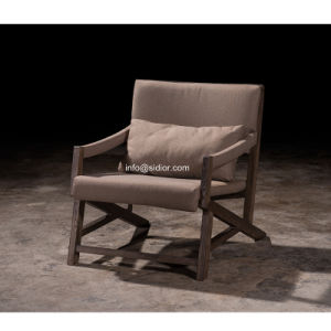 (SL-8202) Solid Wood Hotel Restaurant Room Furniture Wooden Leisure Arm Chair pictures & photos
