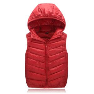Professional Unique Design Wholesale High Quality Down Vest Duck Down Jacket 602 pictures & photos