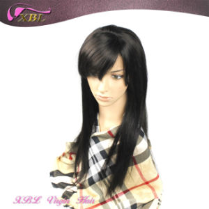 Brazilian Virgin Remy Hair Handmade Human Hair Full Lace Wig pictures & photos