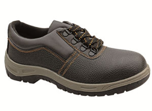 Ufa012 Low Price Black Steel Toe Safety Shoes pictures & photos