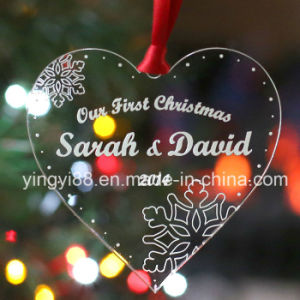 Personalised Acrylic Christmas Tree Decoration pictures & photos