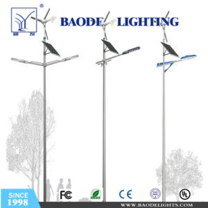 60W LED with 400wwind Hybrid Solar Street Pole Lighting (BDSW998) pictures & photos