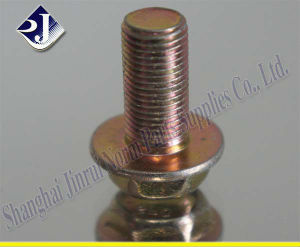 Asme Standard Grade 8 Hex Flange Screw pictures & photos