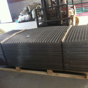 Black Iron Welded Wire Mesh Panels pictures & photos