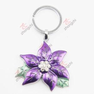 Enamel Metal Flower Key Chain (KC)