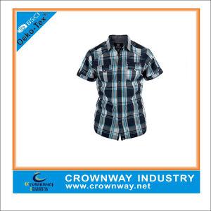 Cotton Casual Fashion Plain Shirt for Men (CW-SS-6) pictures & photos