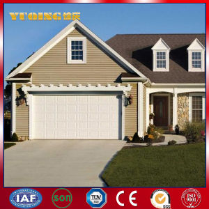 40mm Thick Insulated Steel Sectional Over Head Garage Door (YQPGD093)