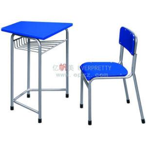 8-Seater Colorful Wooden Kids Table and Chair for Kindergarten pictures & photos