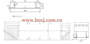 HVAC System Full-Automatic Smoke Exhaust & Fire Proof Damper Roll Forming Production Machine Myanmar pictures & photos