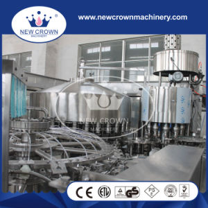 Double Washing Parts Combined Bottle Filling Machine for Non Gass Liquid pictures & photos
