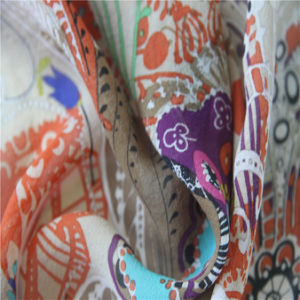 10mm Georgette Printing Silk Fabrics pictures & photos