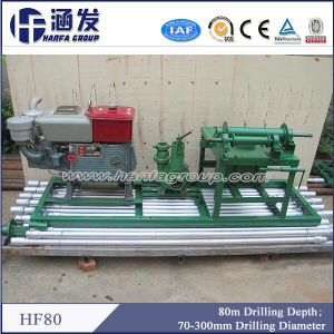 80m Depth, Hf80 Portable Water Well Drilling Rig for Family Irrigation pictures & photos