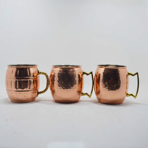 Whole Sale Low Price Hammered Copper Mug pictures & photos