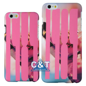 Flowers Stripe Hard Mobile Phone Cover for iPhone 6 Plus pictures & photos