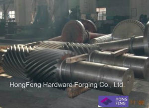Precision Forged Stainless Steel Gear Shaft pictures & photos