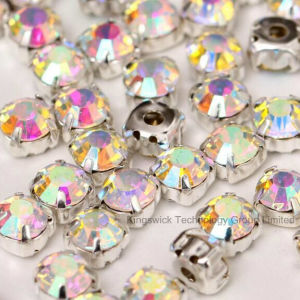 Colors Rhinestone with Metal Setting pictures & photos