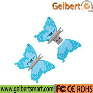 Best Price Butterfly Shape USB 2.0 Flash Drive for Gift pictures & photos