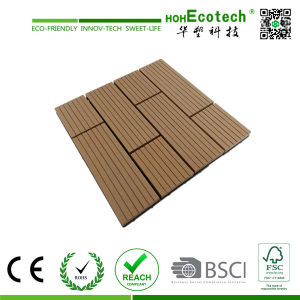 WPC Decking Tiles/ Wooden Floor WPC Tiles / WPC DIY Decking Tile pictures & photos