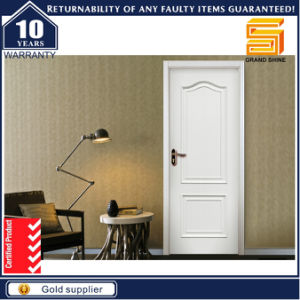 Exterior MDF Panel Interior Solid Wooden Veneer Wood Door