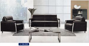 Modern Office Sofa with Stainless Legs, Leisure Sofa, Executive Office Sofa Set (YA-335) pictures & photos