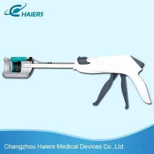 Single Use Curved Cutter Stapler for Colorectal Resection pictures & photos