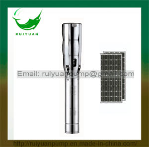 6 Inch 2200KW 3HP Solar DC Stainless Steel Deep Well Submersible Water Pump (SL6SP17-02/2.2KW) pictures & photos