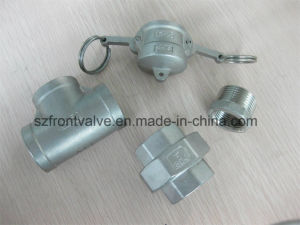 Investment Casting Stainless Steel Cam Lock-Type Dp Dust Plug pictures & photos