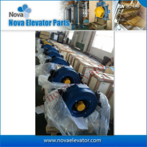 Elevator Geared Traction Machine for Lift Traction System pictures & photos