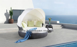 Grey Color PE Rattan Wicker Outdoor Lounge Bp-6010 pictures & photos