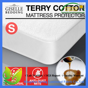 Queen Size Terry Anti Bacterial Waterproof Mattress Cover pictures & photos