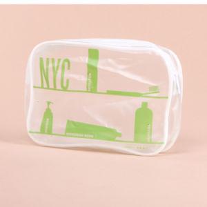 Custom Print Clear PVC Slide Zipper Stationery Bag Pencil Case pictures & photos