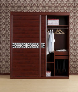Modern Design New Type Wood Wardrobe