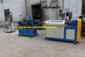 Automatic Single Wall Corrugated Pipe Plastic Extruding Producing Machinery pictures & photos
