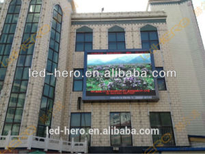 Outdoor LED Control Panel Screen P10/Busines Center, Train Station, Commercial Street pictures & photos