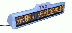 P10 Yellow Color Bus LED Display pictures & photos
