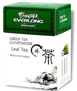 Gunpowder Tea Pyramid Tea Bags (PT1307) pictures & photos