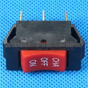 on off on 3 Position Rocker Switch pictures & photos